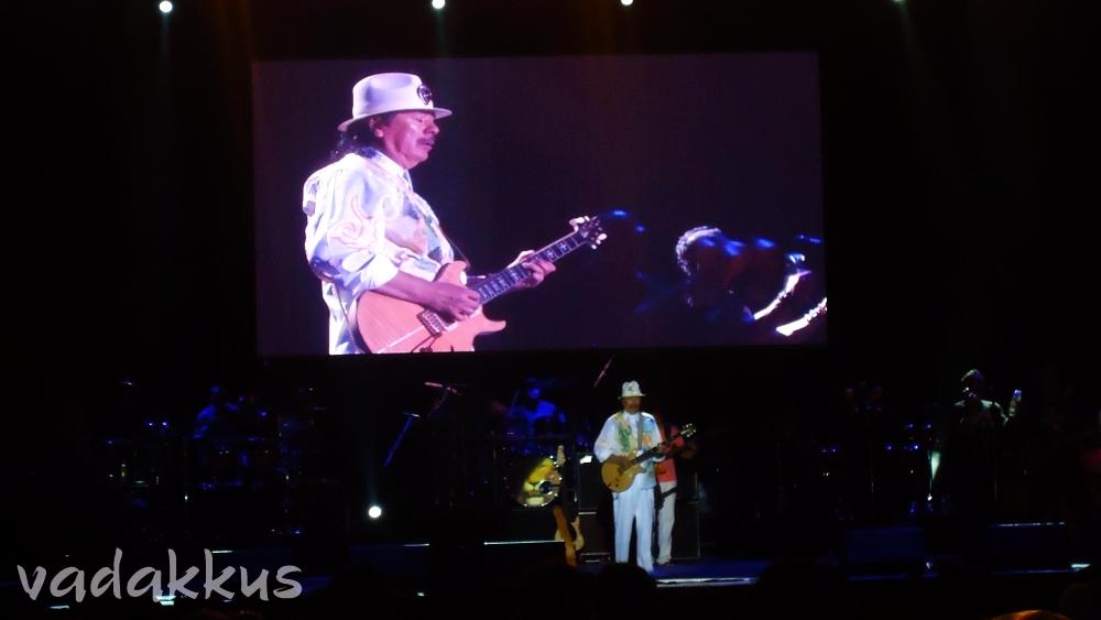 Carlos Santana Performing Live in Bangalore