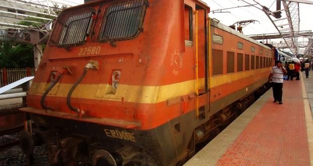Electric Rail Loco WAP4 Class of Indian Railways
