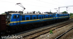 Serial Numbered Twin WAG7 Electric Frieght Locomotives of Indian Railways