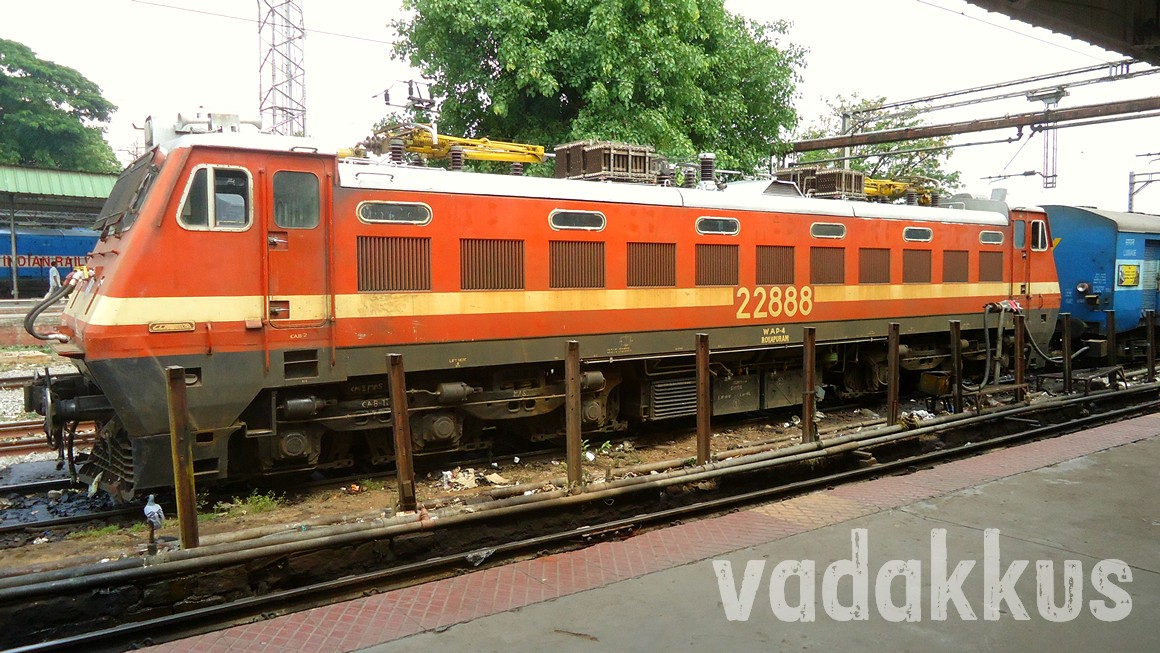 Indian Railway Electric Loco Class WAP4