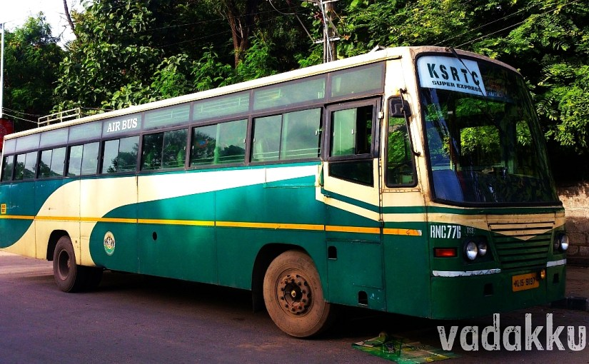 KSRTC Super Express RNC 776 Thrissur - Bangalore