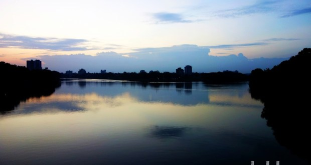 Aluva (Periyar) River at Dusk