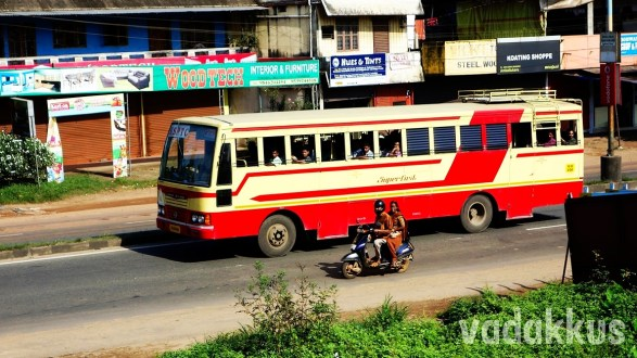 KSRTC Superfast on a Long Journey…
