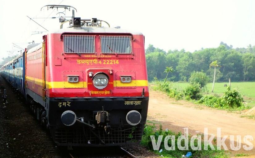 Lallaguda's Offlink WAP4 with the Venad Express!