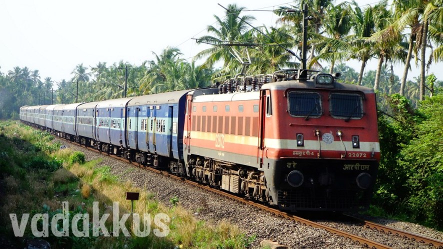 "The ""Supercrawler"" Alappuzha – Dhanbad Express in Full Form"