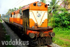 "Ernakulam's Orange WDG3A Shows her ""True Colors"""