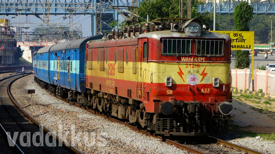 WAM4 Indian Railways old model electric locomotive