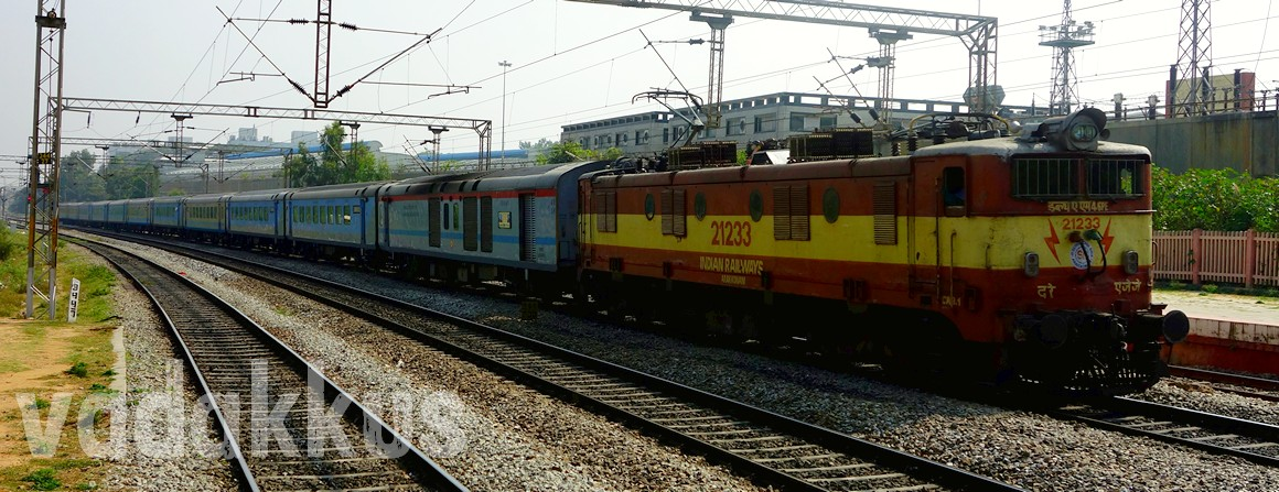 Photo of the Chennai Mysore Shatabdi Express