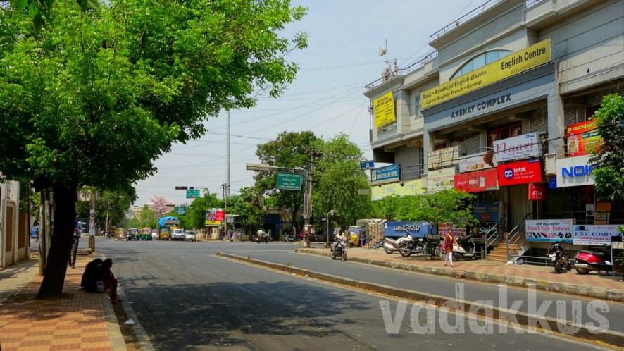 Rare Photo of Udupi Garden Signal Without Traffic!!