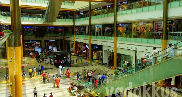 Interiors of the Orion Mall at Brigade Gateway, Rajajinagar, Bangalore