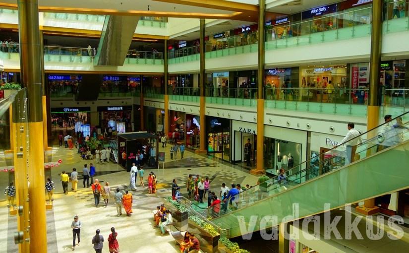 Interiors of the Orion Mall at Brigade Gateway, Bengaluru