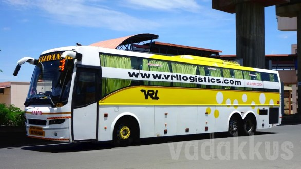 VRL (Vijayanand Travels) Volvo B9R Multi-Axle Sleeper Bus