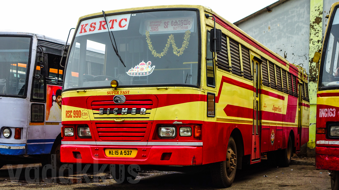 KSRTC Eicher SuperFast RSC990 of Kottayam (RIP)