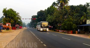 KSRTC Kerala Scania Multi Axle Bus Running highway morning