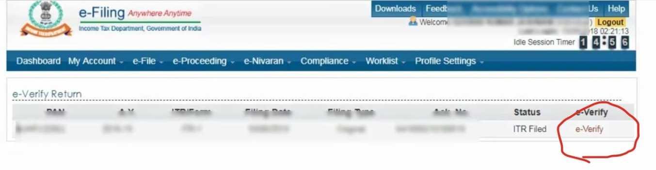 itr filing in hindi