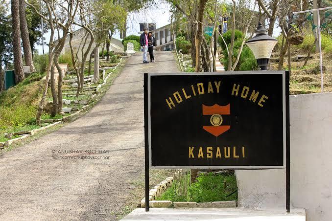 Army holiday homes Kasauli