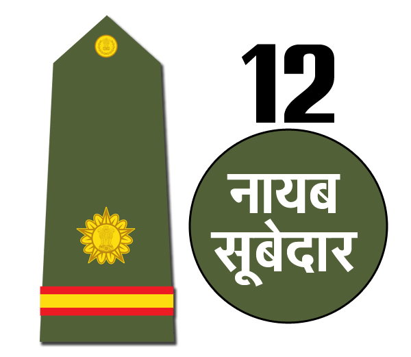 Indian army rank Naib Subedar