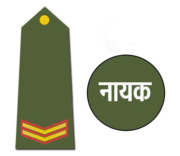 Indian army rank Naik