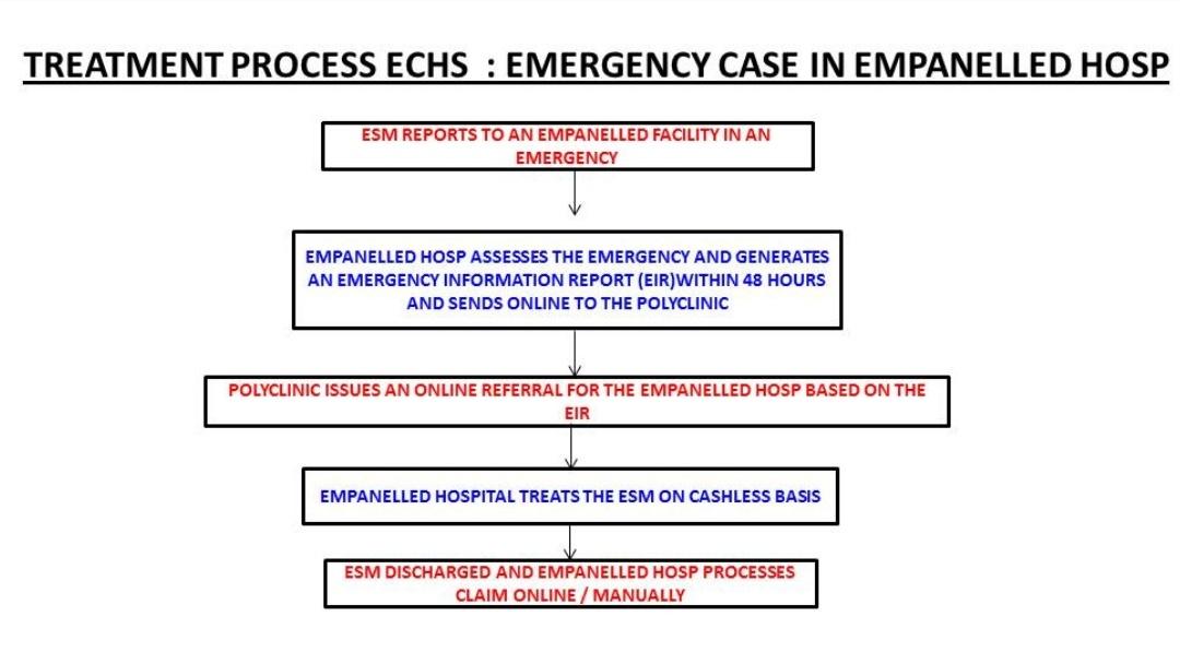 ECHS Treatment in emergency