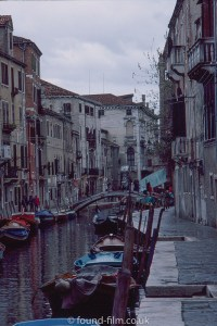 A canal in Venice?