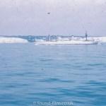 A warship at dover