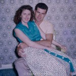 A Young American couple, probably 1950s