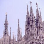 Cathedral Spires in Milan