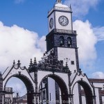 City gate at Ponta Delgada, Azores