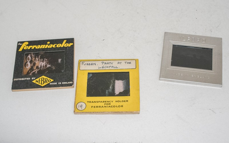 Ferrania and Ilford colour slides