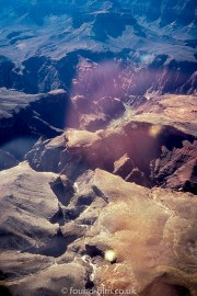 Grand canyon from an aeroplane