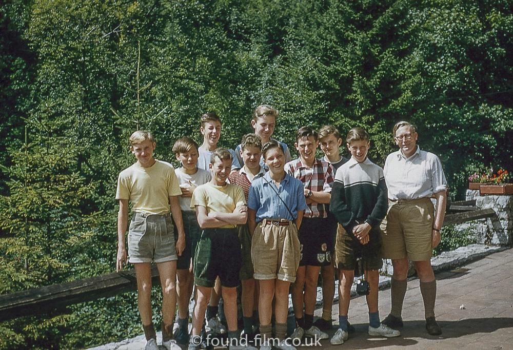 Group at Garmisch