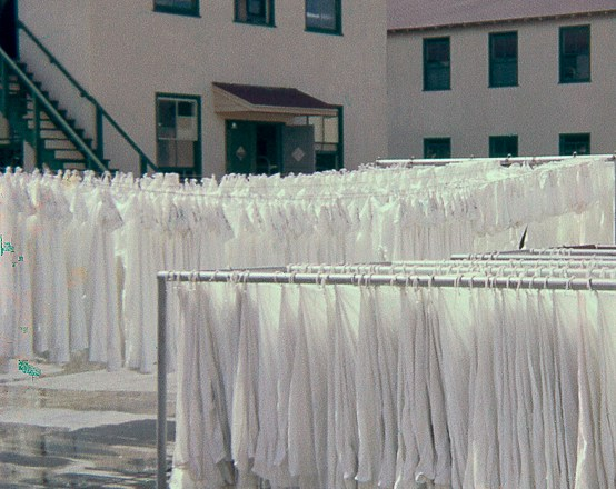 Hang out the washing