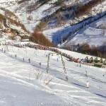 Ski run view