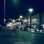 Wales at night