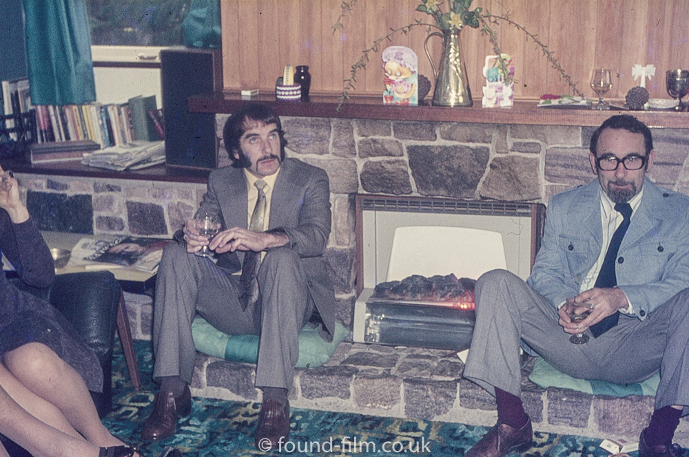 1970s Sitting room interior