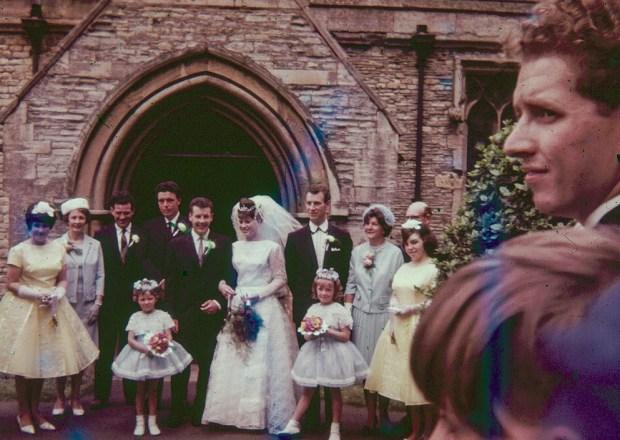 Early 1960s Wedding