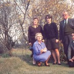 Family Group in the garden of Lavender Vale, Wallington