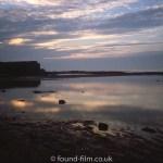 Hilbre Island at dusk