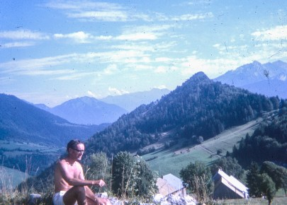 Picnic on a Mountain