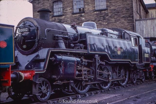 Steam Engine pictures on Found Film