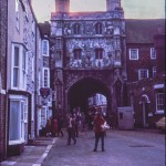 Unknown town – probably Canterbury