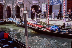 Waiting Gondolas