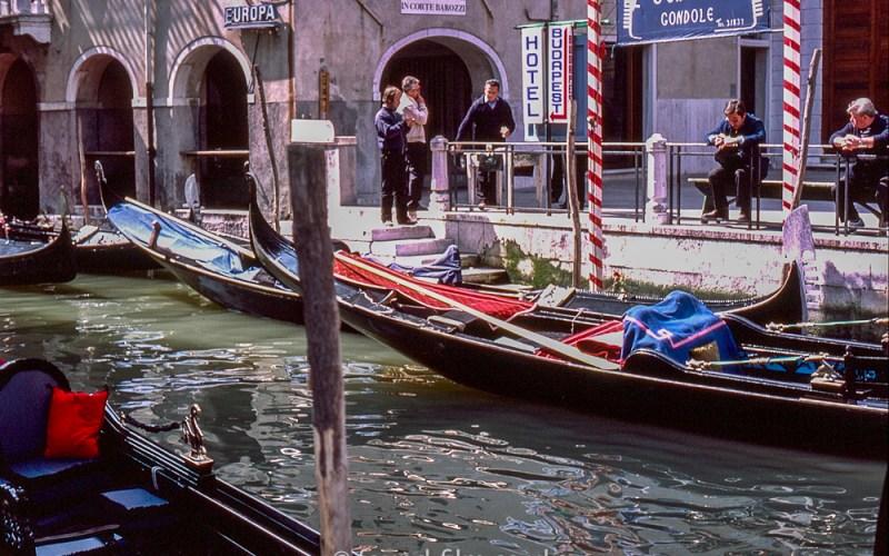 Waiting Gondolas