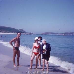 Family in Scilly Isles