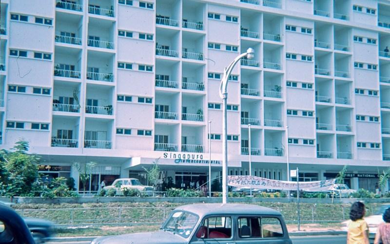 Singapura Intercontinental hotel