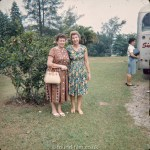 Portrait of two ladies in Singapore in the early 1960s