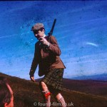 Scot called Angus McCall with a shotgun, September 1964