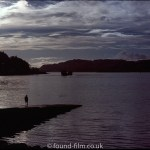 Beautiful silhouette seascape – September 1980