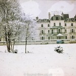 City in the snow – 1962?