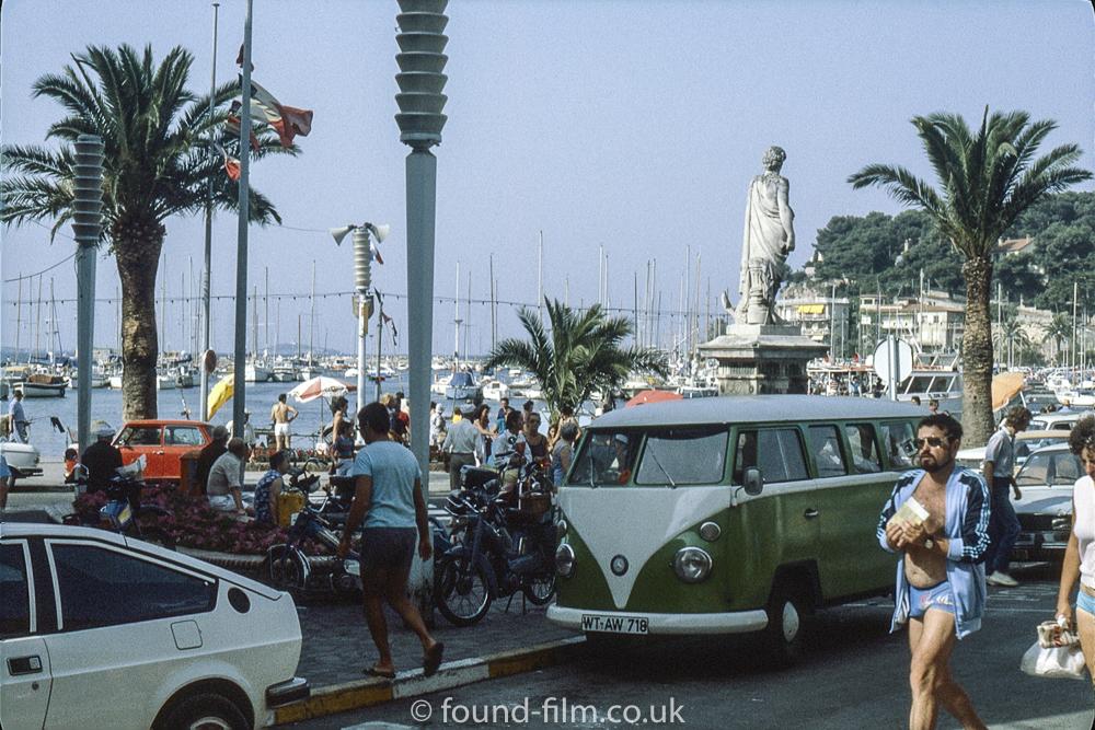 Mediterranean coastal town - August 1980